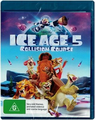 """ICE AGE 5: COLLISION COURSE"" Blu-ray - Region [B] NEW"