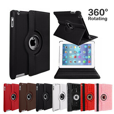 Apple iPad 2 3 4 Mini 1 2 3 Air 2017 Magnetic Leather Case Cover Smart Stand