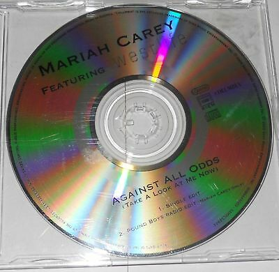 "MARIAH CAREY Feat. WESTLIFE - AGAINST ALL ODDS ""2 Tracks Promo""  - CD Single.."
