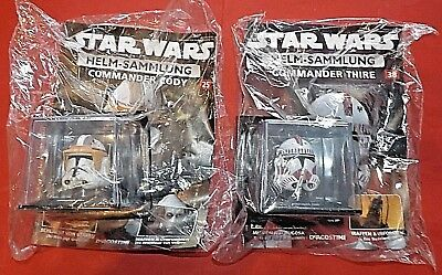 STAR WARS Helmsammlung 25+38 Commander Cody u. Thire DeAgostini+Magazin
