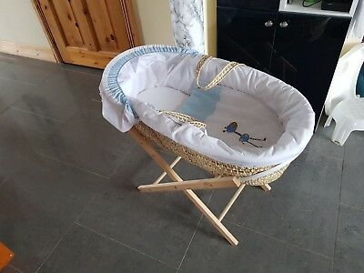Baby MOSES BASKET Sleeper and Stand