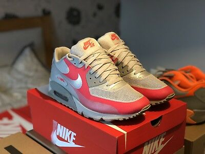 7caf8aa82af Men s Nike Air Max 90 Hyperfuse UK Size 11 Grey Pink