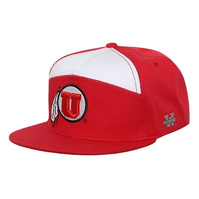 14ca086e5fc University of Utah Utes Flat Bill Crown Snapback 7 Panel Baseball Cap Hat