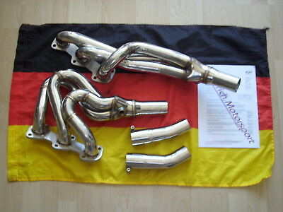 Collektoren BMW E 24 628i-635i High Performens Headers Edelstahl Neu Tüv Germany