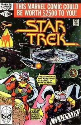 Star Trek (1980 series) #6 in Very Fine + condition. Marvel comics [*hy]
