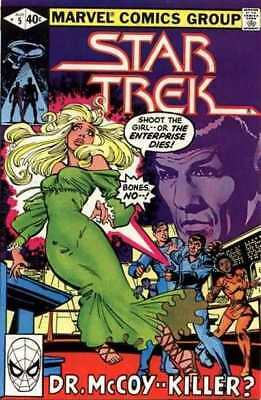 Star Trek (1980 series) #5 in Near Mint minus condition. Marvel comics [*gb]