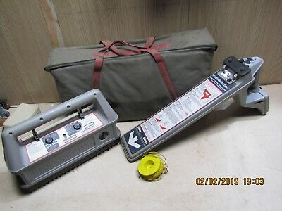 Radiodetection cable scanner & generator RD400PL & RD400SDTx transmitter cable