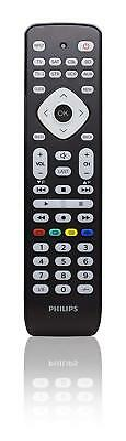 Philips SRP2018/10 Mando a Distancia Universal TDT/DVD/Blue Ray/DVR/Streamming