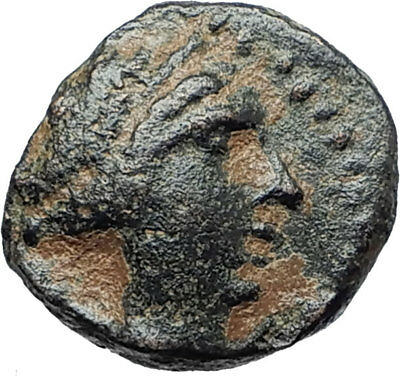 SELEUKOS III Keraunos 225BC Seleukid Ancient Greek Coin ARTEMIS & APOLLO i75440