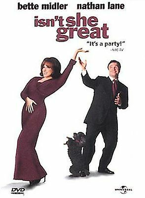 Isnt She Great (DVD, 2000) ***DISC ONLY***
