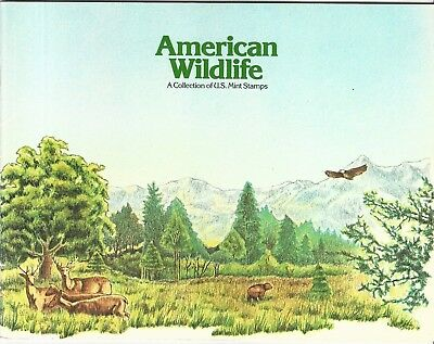 Usa: American Wildlife a collection of U.S. mint stamps with some stamps...US473