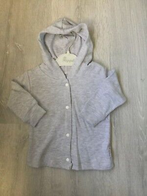 UK SELLER Baby Boy Girl Unisex Grey Cardigan 6-12 Months Clothes top