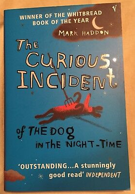 The Curious Incident Of The Dog In The Night-Time -Mark Haddon (Cats Protection)