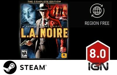 L.A. Noire Complete Edition [PC] Steam Download Key - FAST DELIVERY