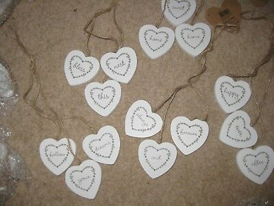 JOB LOT of 100 Sets of 3 RJB Stone Sass & Belle Hanging Hearts Carboot Resale