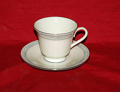 One Lenox China Cup and Saucer Set(s)   Charleston   Great Shape   Gold Stamp