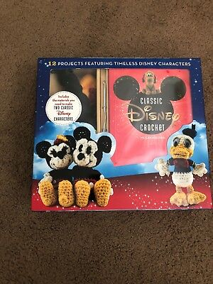 New-Disney Classic Crochet Kit-Makes 2 Projects