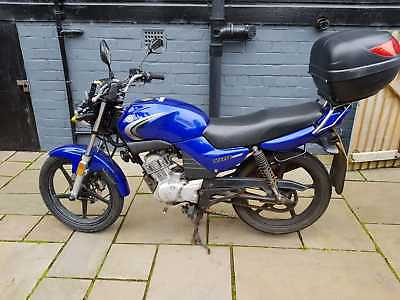 YAMAHA YBR125 2007 SPARES OR REPAIR, MOT'd 2019, STARTS AND RUNS