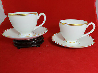 Waterford Kilbarry Gold Tea Cup & Saucer New set of 2