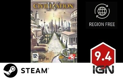 Sid Meier's Civilization IV [PC] Steam Download Key - FAST DELIVERY