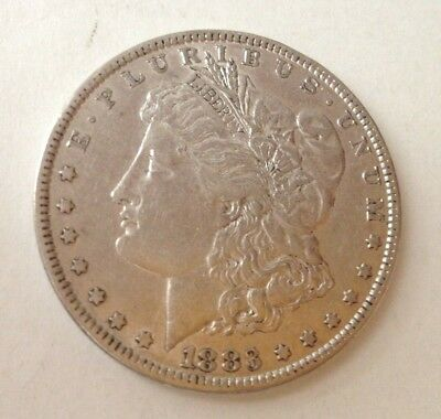 Estate 1883 Morgan Silver $1 United States Coin Great looking coin