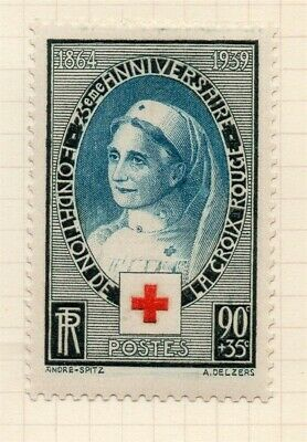 France 1939 Red Cross Issue Fine Mint Hinged 90c. 300303