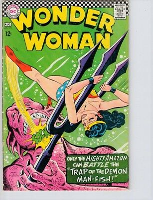Wonder Woman #171 (1967) VG/FN 5.0  Cover detached at bottom staple only