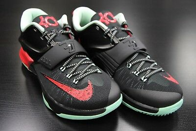 reputable site 2cf6d 0e302  653996 063  New Men s Nike Kd Vii 7 Bad Apples Black Action Red Mid