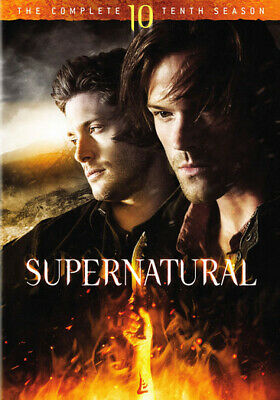 Supernatural: The Complete Tenth Season (DVD,2015)
