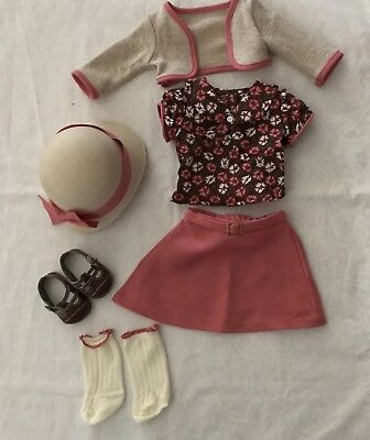 American Girl Kit School Outfit- Complete - Retired