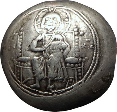 MICHAEL VII Genuine Ancient Byzantine HISTEMON Nomisma Coin JESUS CHRIST i73787