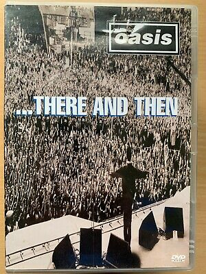 Oasis There And Then DVD 2001 Live Concert Concert Britpop Musique Rock