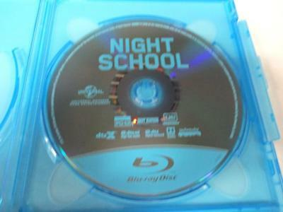 Night School Extended Cut (Blu-ray Disc, 2018) 1 Disc Only Never Viewed NO CASE