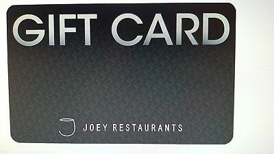 Joey's Restaurant $50 Gift Card via Email