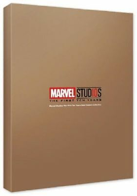 MCU Studios 10th Years Anniversary Gold Posters Collection Marvel Posters_NK