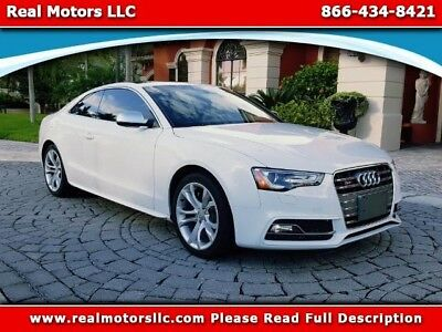 2017 Audi S5 Technology, Sports Differential, Quattro 7A 2017 Audi S5 Technology, Sports Differential, Serviced,Inspected, Financing Opti