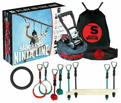 Slackers NinjaLine 30′ Intro Kit | Outdoor Games | Ninja Warrior | Best Price