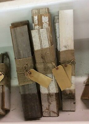 Antique Bead Board Bundles/Weathered Reclaimed Rustic Arts & Crafts Wood