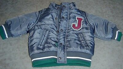 Jack & Milly Baby Boys Bomber Jacket  Sz 000 New Without Tags