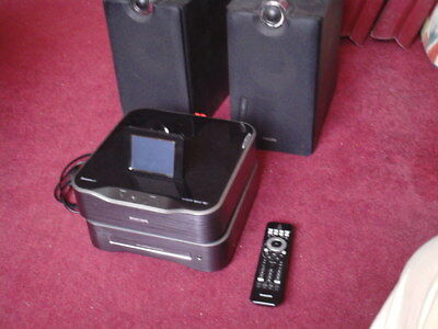 Philips MCI8080 Streamium micro hifi + thuisbioscoop + internet radio set.