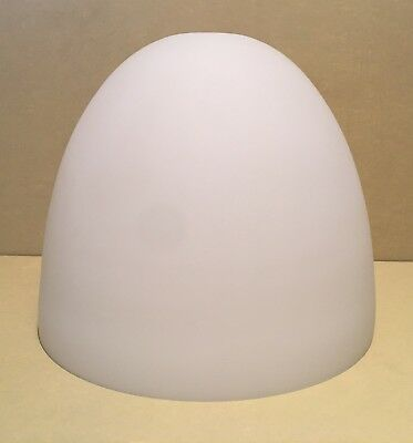 Vintage Dome Shaped Frosted Glass Lampshade 19 cm Diameter x 16 cm Height VGC
