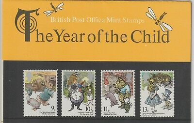 GB 1979 Presentation Pack 110. International Year of the Child.