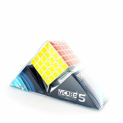 V-CUBE 5X5X5 - Straight Edge Speed Solve Cube, A New Twist on a