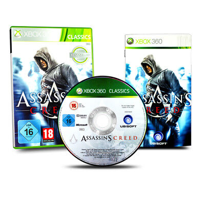 XBOX 360 Spiel ASSASSIN´S CREED in OVP mit Anleitung
