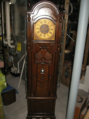 MAJESTIC model 20 Grandfather Clock early 1930's AM radio NICE! & Serviced
