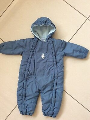 4b567d51f369 JFB JOHN LEWIS Baby All in One Pramsuit Fully fleece lined Hood
