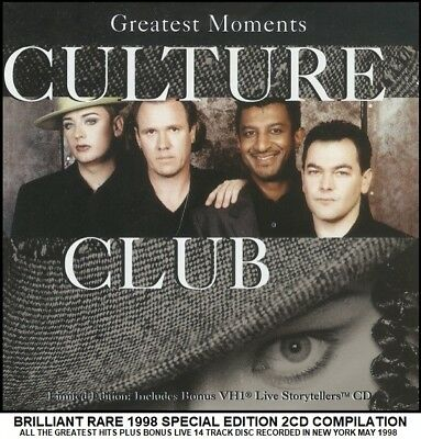 Culture Club - Very Best Essential Greatest Hits Collection 80's 2CD Boy George