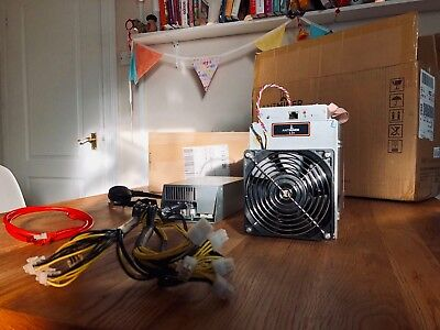 Bitmain Antminer L3+ ASIC Litecoin Miner INCLUDING Power Supply (4 available)