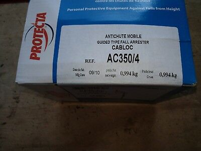 protecta AC350/4 cabloc mobile guided fall arrestor for 8MM CABLE