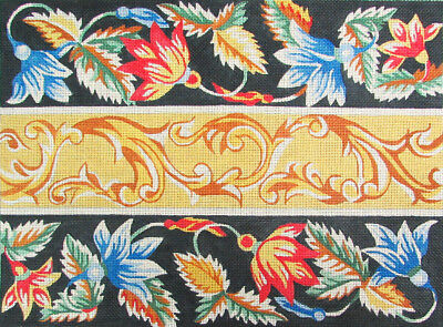 HP Needlepoint 13ct SILVER NEEDLE Acanthus Leaf-LB48